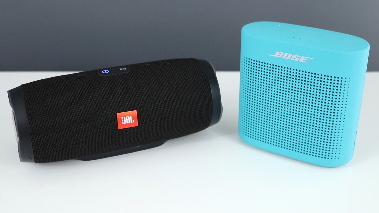 Bose soundlink color 2 vs jbl charge 3 with sound comparison youtube - Jbl charge 2 vs charge 3 ...