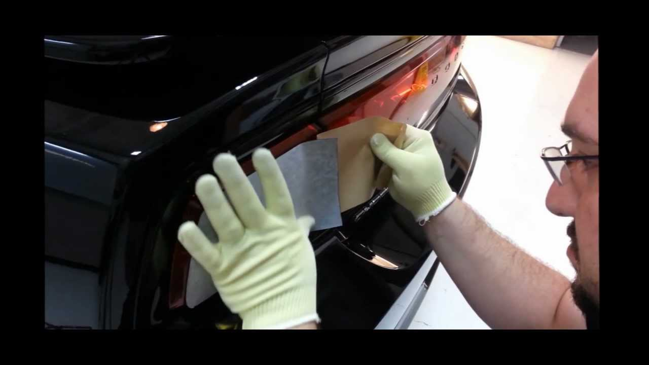 How To Tint A Dodge Charger Rt Tail Light With Xpel Dark