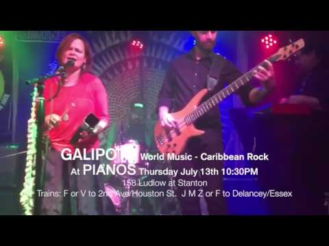 GALIPOTE World Music - Caribbean Rock will perform at PIANOS NYC
