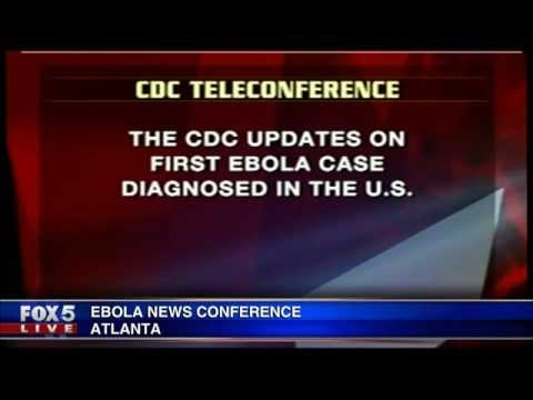CDC News Conference on Texas Ebola Patients