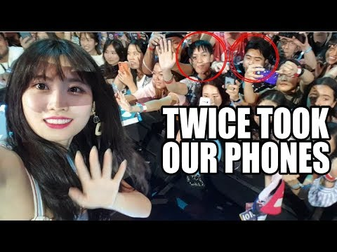 TWICE TOOK OUR PHONES!