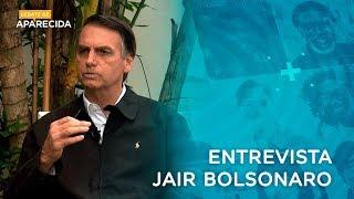 Eleições 2018: entrevista com o candidato Jair Bolsonaro na TV Aparecida