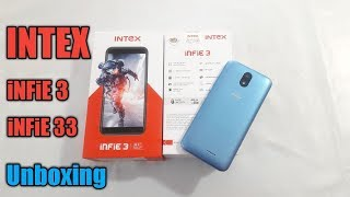 Intex Infie 3 & 33 Unboxing First look and full specifications and review