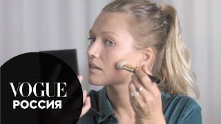Макияж без макияжа топ модели Тони Гаррн Vogue Россия