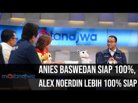 Mata Najwa Part 2 - Demi Asian Games: Anies Baswedan Siap 100%, Alex Noerdin Lebih 100% Siap