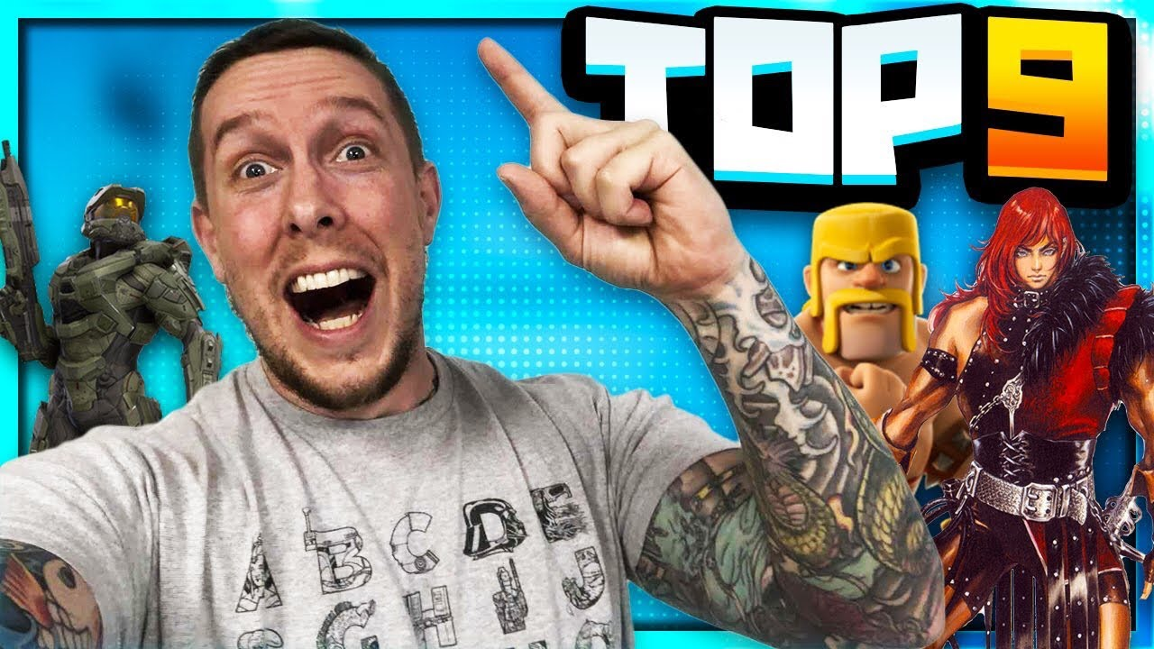 The Top 9 Video Games I've Ever Played!