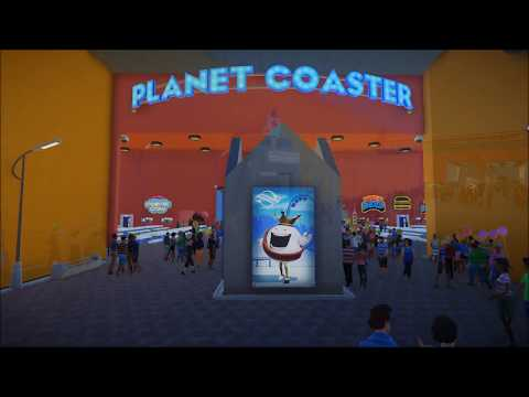 Hijotee's Indoor Coaster Park and Emporium - Planet Coaster (New 2017 Theme Park Grand Opening)