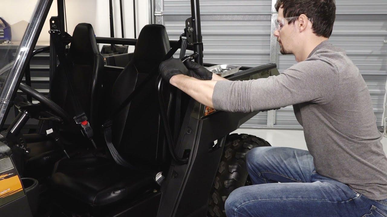 Ranger 150 Door Installation | Polaris Off Road Vehicles