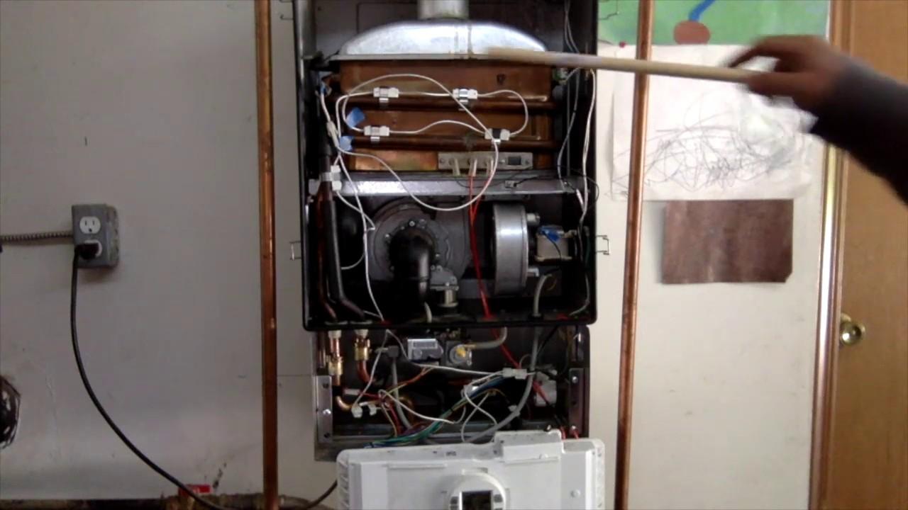 Bosch 2400 Tankless Water Heater Ea Error Code Fix Youtube