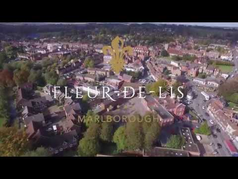 An Aerial Tour of Fleur-de-Lis Marlborough, Wiltshire