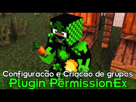 Minecraft Plugin Tutorial PermissionEx - Configuração e Criação de grupos