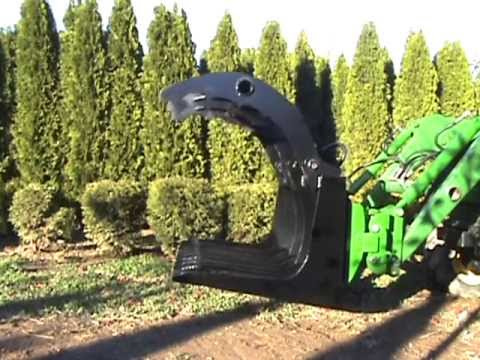 Brush Grapple Attachment I Built For My John Deere Tractor