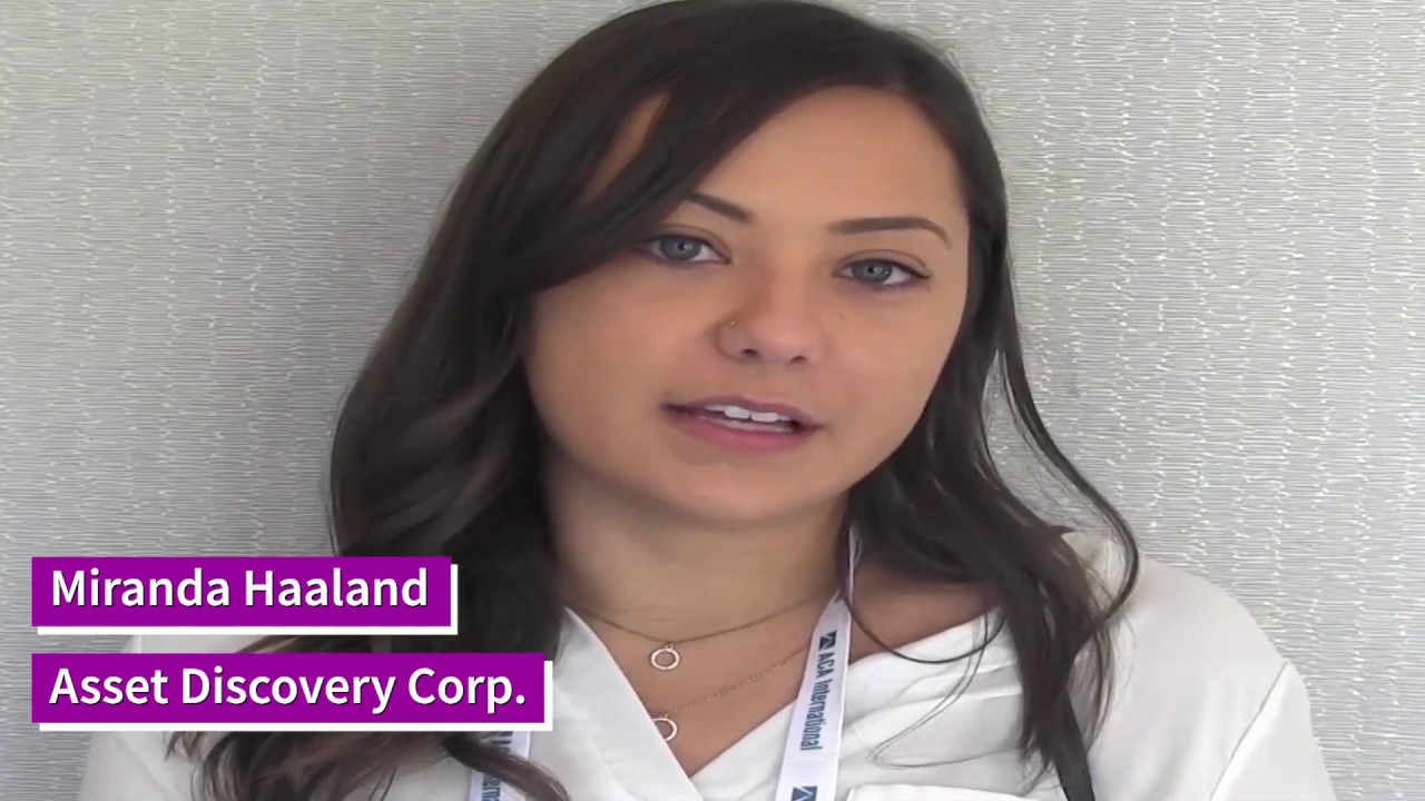 Level Up Interview With Miranda Haaland Of Asset Discovery Corp Youtube