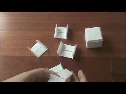 Origami Modular Paul Jackson Cube