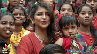 Lakshmi Manchu Celebrates Sankranthi With Govt School students