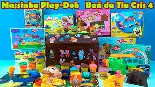 Download lagu PLAY DOH no Baú da Tia Cris 4 BaúdaTiaCris baúdatiacris4 play doh MP3