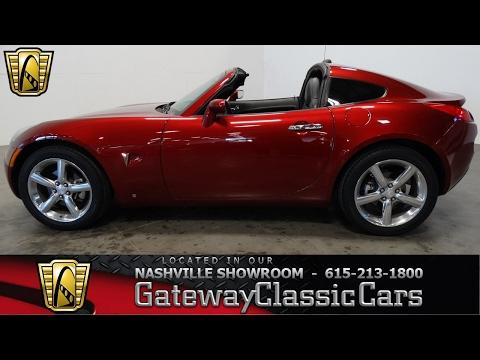 2009 Pontiac Solstice Targa,Gateway Classic Cars-Nashville#427