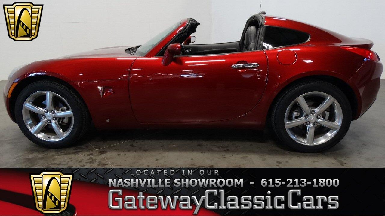 2009 Pontiac Solstice Targa Gateway Clic Cars Nashville 427