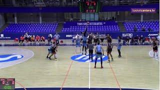 EBA - MOVISTAR ESTUDIANTES vs GLOBALCAJA QUINTANAR.- Liga Eba (20/2/21) #BasketCantera.TV