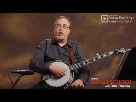 Learn 3 Easy Banjo Chords from Tony Trischka: G, C, D7