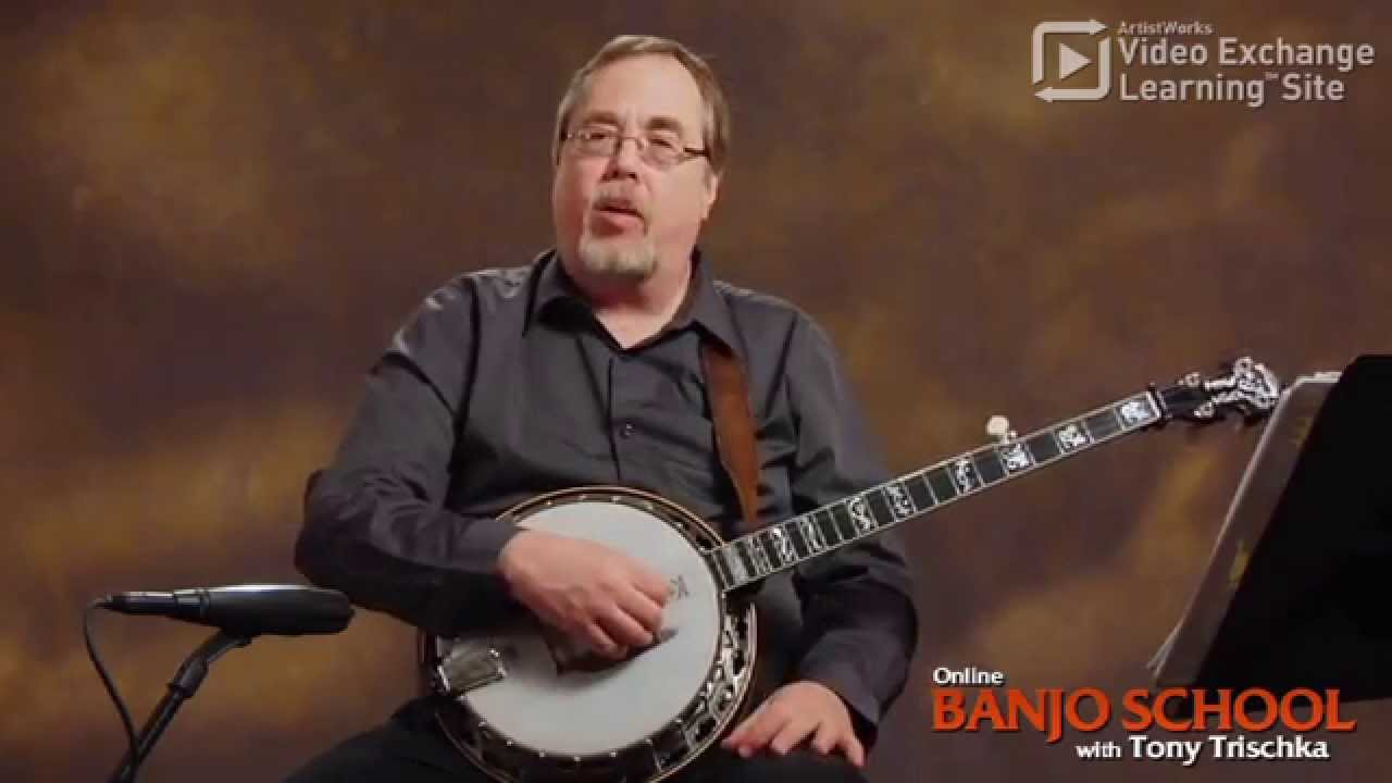 Learn 3 Easy Banjo Chords from Tony Trischka: G, C, D7 - YouTube