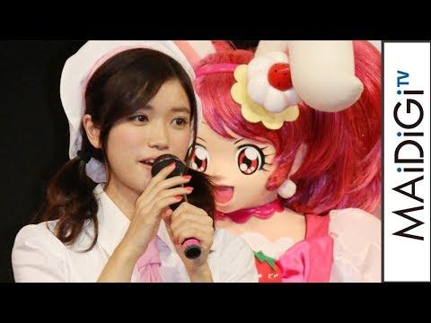 顔の肌がきれいな美山加恋さん