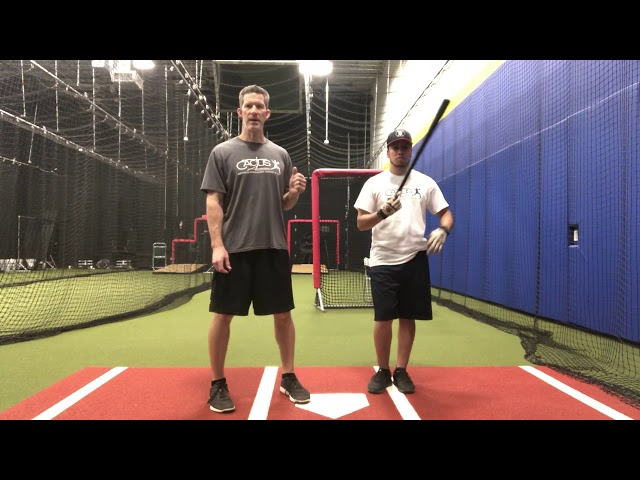 Front Toss Drill- Top and Bottom Hand with a Short Bat