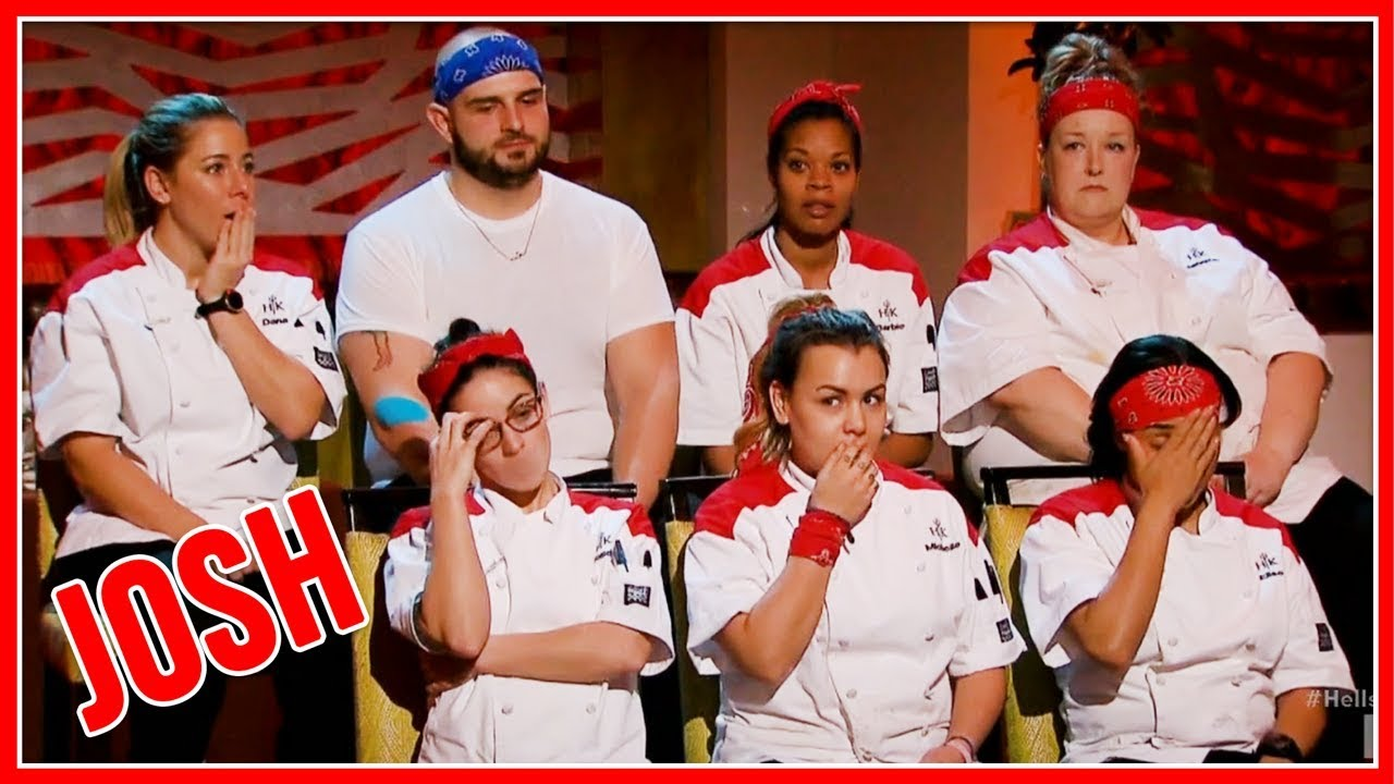 Hell S Kitchen Season 17 Episode 4 Josh