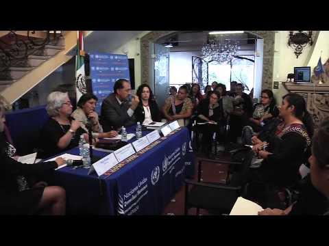 Rashida Manjoo, Relatora de la ONU, escuchó las problemáticas de las mexicanas