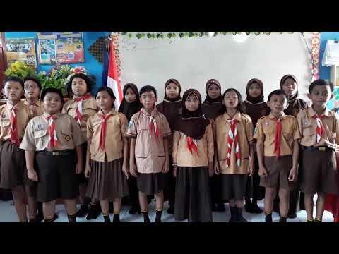 Air Terjun AT MAHMUD  dinyanyikan oleh kelas VB SDN NGAMPELSARI