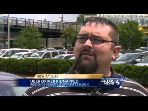 Uber driver hijacked in Shadyside
