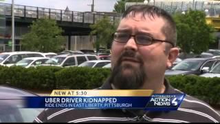Uber driver hijacked in Shadyside