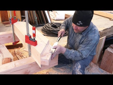 Download Youtube: TIMBER FRAME JOINERY DOMINATION!
