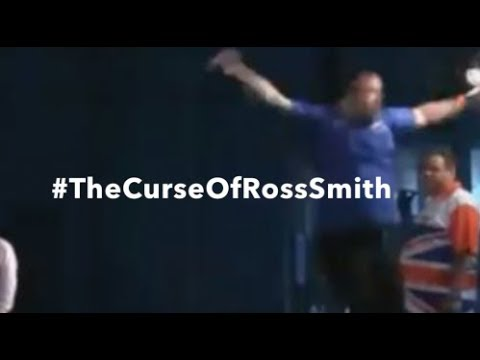 What is #TheCurseOfRossSmith? The Last Perfect 9-Dart Game on the European Tour?