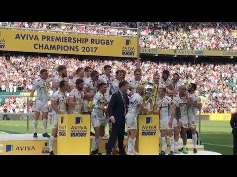 Exeter Chiefs Win The Aviva Premiership At Twickenham - Vlog