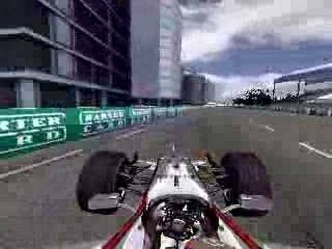 rFactor McLaren F1 at Surfer's Paradise 1:16.665