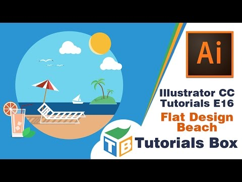 Illustrator Tutorial Flat Infographic