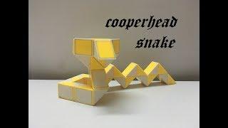 Rubik's Twist or Rubik's Transformable Snake - Copperhead Snake - 蛇