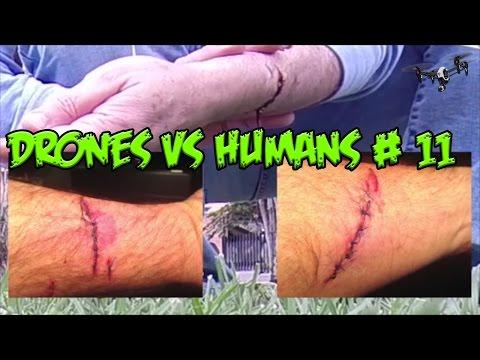 Top 5 Drones vs Humans # 11