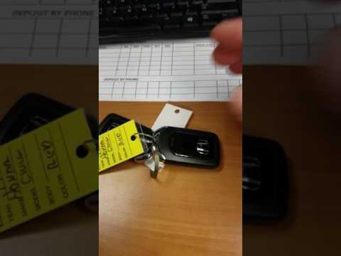 2016-2017 Honda Key Fob uses and explanations