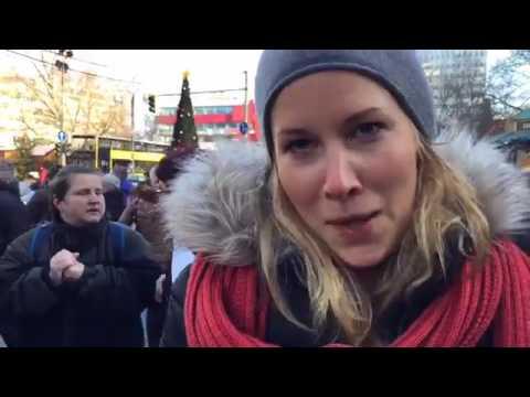 """Berlin Singt Nach Dem Attentat """"we Are The World"""" - Statement Der Berliner An Die Menschlichkeit"""