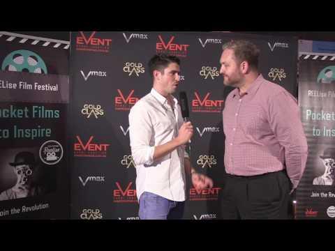 REELise Red Carpet 2016 Event Cinemas General Manager Richard Morgan
