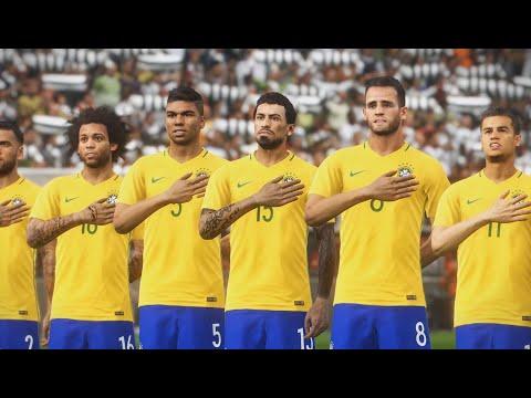 Germany - Brazil international friendly  27/03/ 2018 - Gameplay PES 18 LENDA