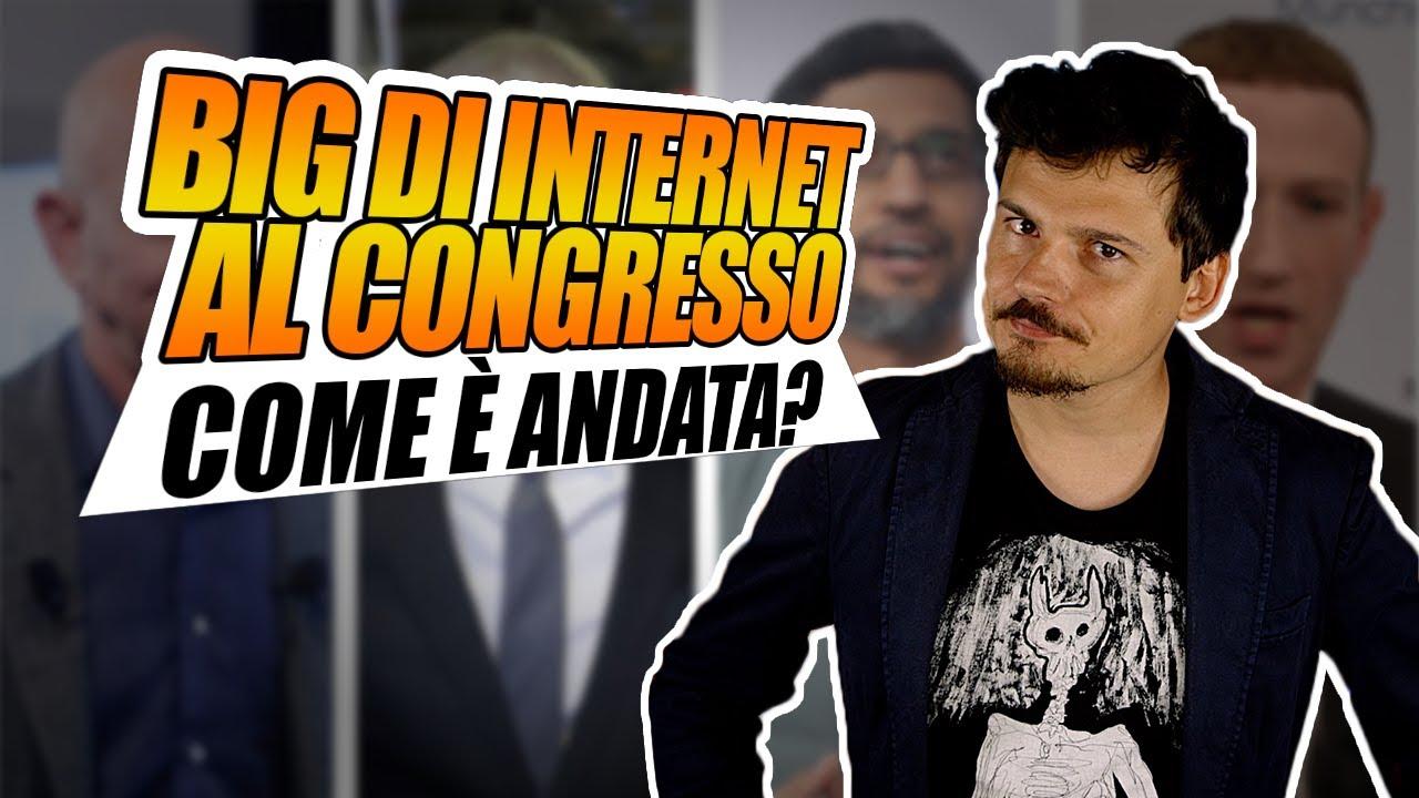 I quattro grandi di Internet interrogati dal Congresso! Come è andata?