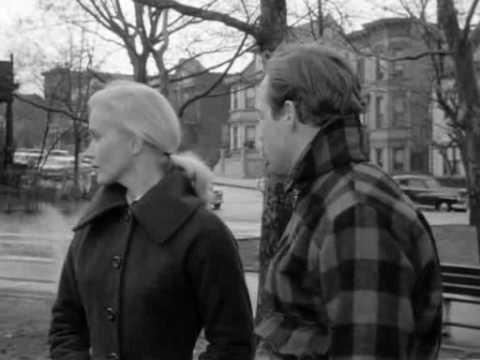 Marlon Brando - On The Waterfront -scene with the bum ruining the talk