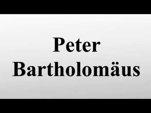 Peter Bartholomäus