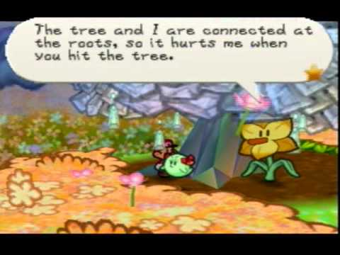 Lets Play Paper Mario Chapter 6 Part 1dark Days In Flower Field