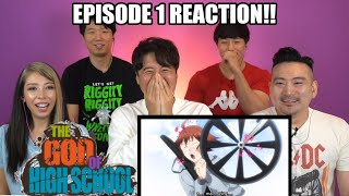 We're Back!! God Of Highschool Episode 1 Group Reaction With Friends!!