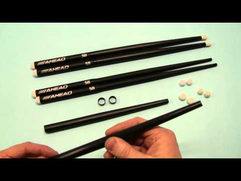 M1TW - Replacement Tip for Ahead Drumsticks video