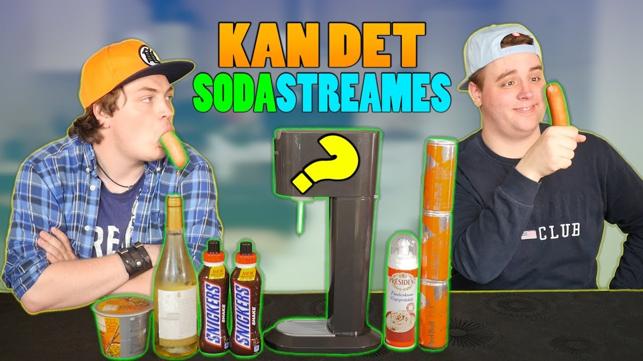 MED SMAG AF PØLSE!   Kan Det Sodastreames #15